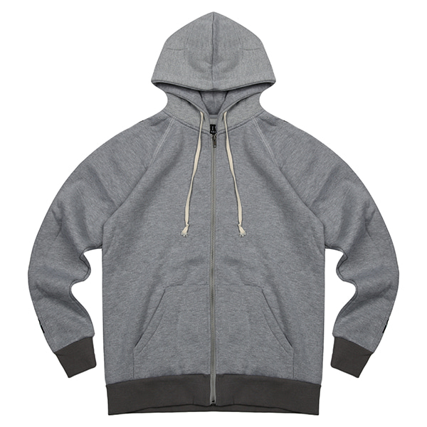 CIVIL TRAINING HOODED JUMPER 102 (GY)