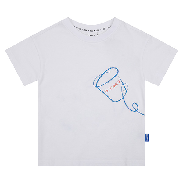 ELSTINKO SHORT SLEEVES 712 (WH) -KIDS