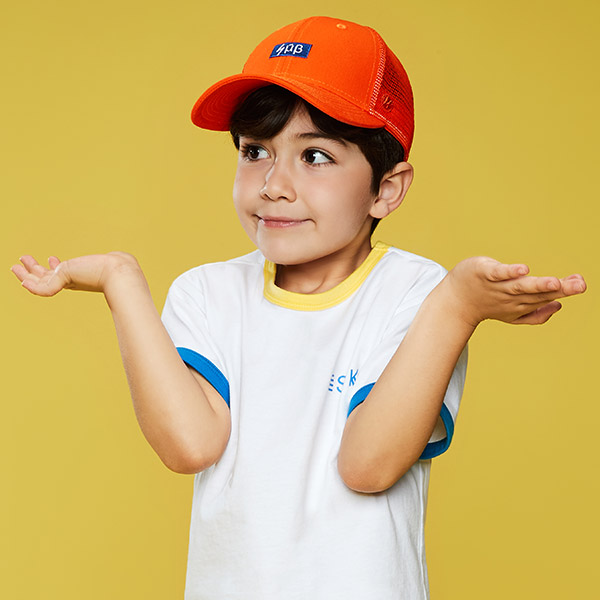 SMB BASIC CAP 706 (OR) -KIDS