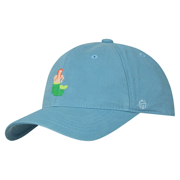 HATSON WASHED CAP 332 (BL)
